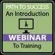 Intro To Training (Live Webinar)